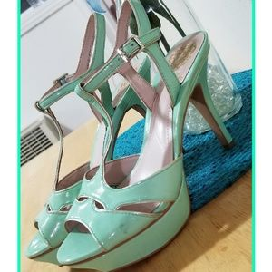 Vince Camuto Mint colored Heels